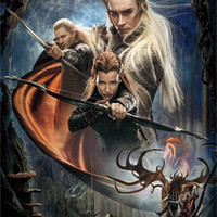 The Hobbit 2 – Group Movie Poster 22x34 RP5976 UPC017681059760