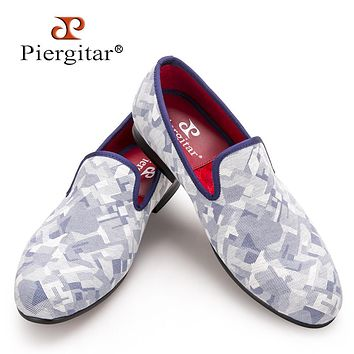 New Fashion Camouflage Men Smoking Slippers Men Slip-On Men Casual Flats shoes