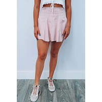 Best You Can Be Skirt: Blush