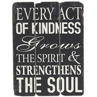 Act of Kindness Wall Decor