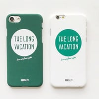 Fashion Green White Case for iPhone 7 7Plus & iPhone se 5s 6 6 Plus Best Protection Cover +Gift Box-149