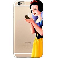 Disney's Snow White Jelly Clear Case For Apple Iphone 7