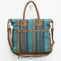 T-Shirt & Jeans Braided Handle Tote Brown One Size For Women 26433840001