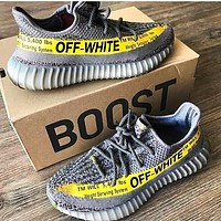 Free shipping-ADIDAS YEEZY 350 x OFF-WHITE Sneakers