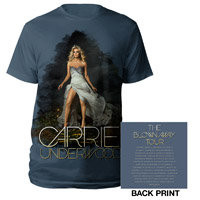 Carrie Underwood Official Store | Blown Away Album Cover 2013 Tour Tee