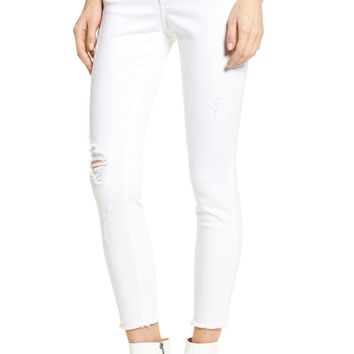Articles of Society Carly Distressed Ankle Skinny Jeans (Cannes)   Nordstrom