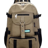 Mens Leisure Canvas Backpack