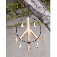 Peaceful Bell Ornament