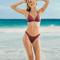 Ribbed Triangle Push-Up - PINK - Victoria's Secret