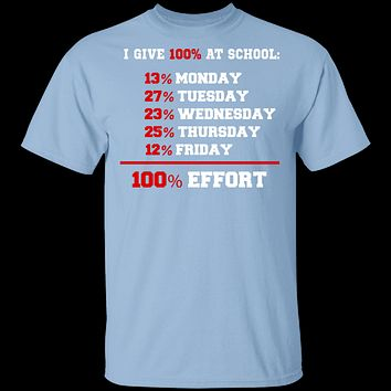 Give 100% At School T-Shirt
