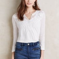 Meadow Rue Lace Cloaked Tee