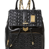 Scarlett Quilted Leather Chainlink Backpack