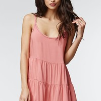 Kendall & Kylie Lace Up Back Dress - Womens Dress