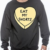 Eat My Shorts Crewneck from Teenage Apparel