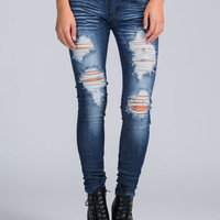 Shred It Up Skinny Jeans