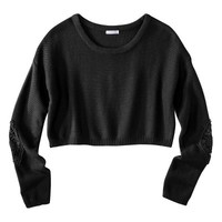 Xhilaration® Junior's Cropped Sweater - Assorted Colors