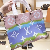 Louis Vuitton LV New Women Shopping Leather Shoulder Bag Crossbody Satchel