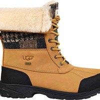 Ugg Men's Cold Weather Patchwork Butte Boot  ugg snow boots