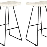 Akito Barstool Cream (Set of 2)