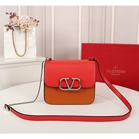 Valentino Women's Leather Shoulder Bag Satchel Tote Bags Crossbody