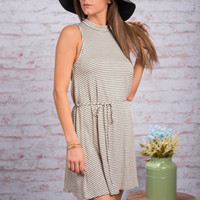 Up Up And Aweigh Dress, Ivory