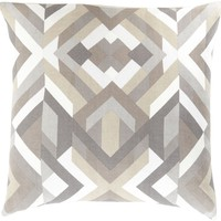 Teori Throw Pillow Gray, Gray