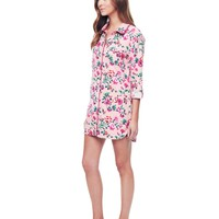 Winter Blossoms W/ Winter Blossom Flannel Nightie by Juicy Couture,