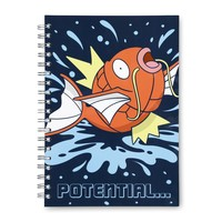 Magikarp Spiral Notebook (200 Pages)