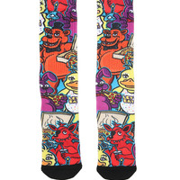 Five Nights At Freddy's Graffiti Sublimation Crew Socks