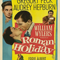 Roman Holiday Vintage Poster by TellAVision
