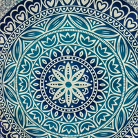 Wall hanging ombre mandala tapestry, Throw Beach, bohemian hippie ethnic style, twin, large, bedsheet, bedspread, wall art, home decor cheap