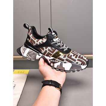 FENDI Woman's Men's 2021 New Fashion Casual Shoes Sneaker Sport Running Shoes0504pp