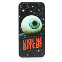 Look Me Bitch Print Case For iPhone 5