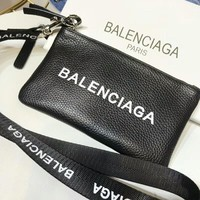 Balenciaga Fashion Women Shopping Leather Handbag Bag Wrist Bag I-AGG-CZDL