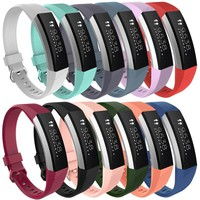2017 High Quality Replacement Wrist Band Silicon Strap Clasp For Fitbit Alta HR Smart Watch Bracelet  MA15
