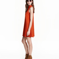 Mock Turtleneck Dress - from H&M