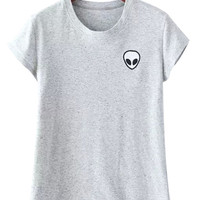 Gray Alien T-shirt
