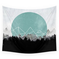 Society6 Woods Abstract 2 Wall Tapestry