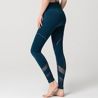 Lesly- Seamless Cut Out Yoga Pants
