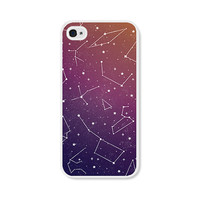 Stars iPhone 5 Case - Constellation iPhone 5c Case - Galaxy iPhone Case Ombre Rainbow iPhone 4 Case - Orange iPhone 5 Case - Pink iPhone 5c