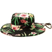 Obey Boonts Floral Fisherman Hat