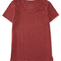Seriously Soft Relaxed Crew Neck Tee - Aeropostale