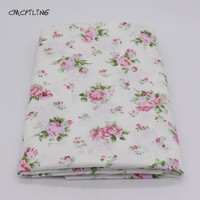 Printed Twill Cotton Fabric For Sewing Floral Tissue Baby Bedding Sheets Sleepwear Children Dress Skirt Material
