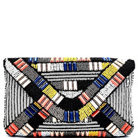 Rio Beaded Clutch Purse