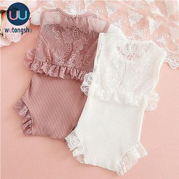 Summer Baby Girl Romper Spring Princess Newborn Baby Clothes Fo