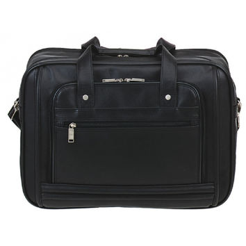 Soft Leatherette Briefcase Laptop Case