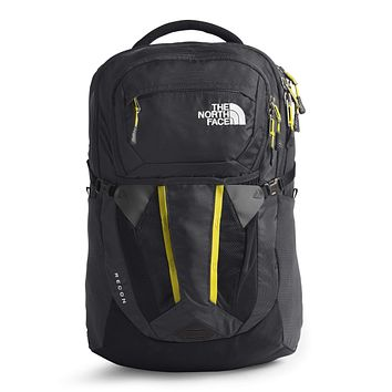 The North Face Women's Recon Backpack, Asphalt Grey/TNF Lemon, One Size