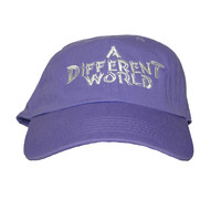 Talento A Different World Dad Hat In Purple