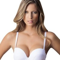 Laura Women's High Quality Strapless Convertible Bra Straps Included SL000014