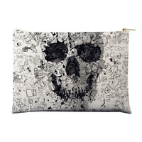 Doodle Skull Pouch
